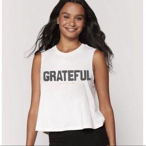 NWT Spiritual Gangster Grateful Crop Tank